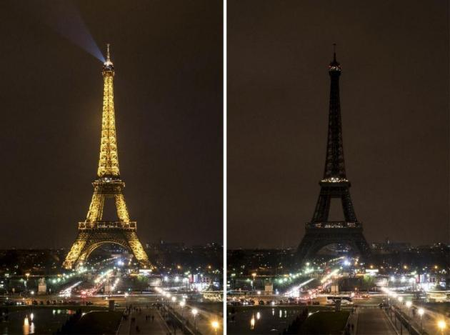 France Earth Hour